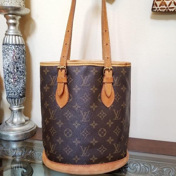 Louis Vuitton Handbags - Authentic Louis Vuitton Bucket pm